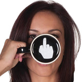 Middle Finger Ceramic Mug
