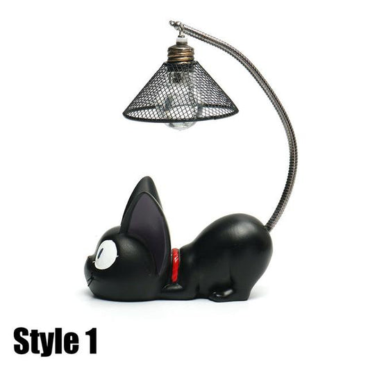 Little Black Cat Night Lamp Ornaments
