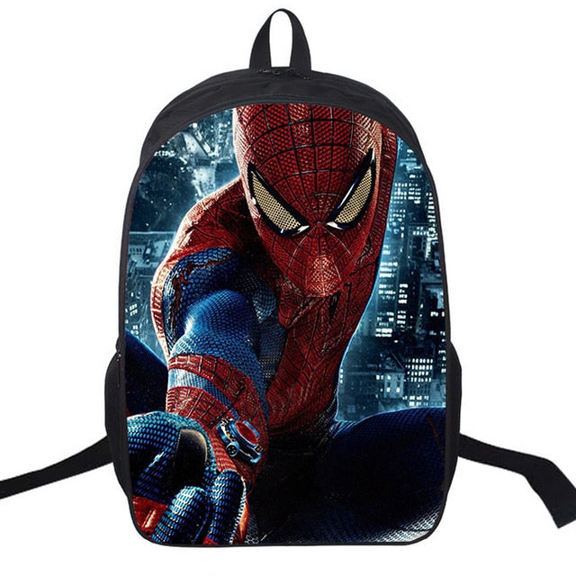 Special Printed 16 inch Super Hero School Bags NOW   50% OFF  For Limited  Time ONLY df61021f2f54c