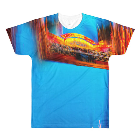 """The Fair"" - Sublimation Men's crewneck t-shirt"