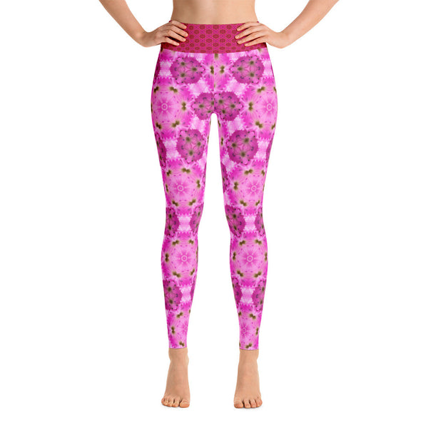 "Kaleidoscope ""Pinkpower"" - Yoga Leggings"