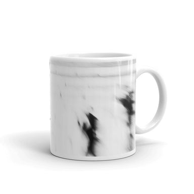 Running People in Black and white - Mug