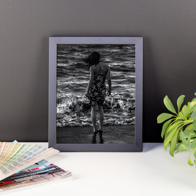 """Love the sea"" - Framed photo paper poster"