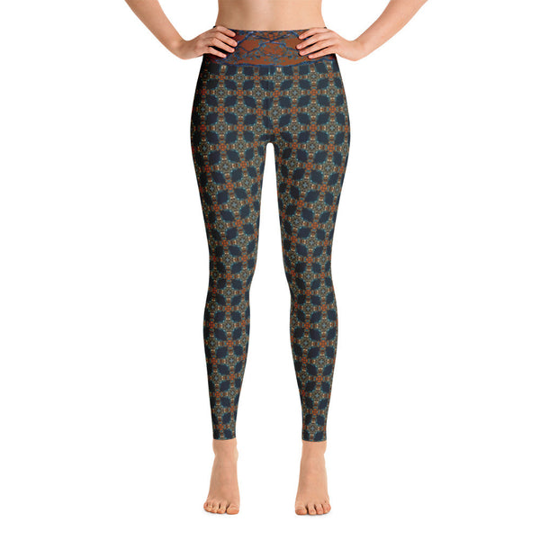 "Kaleidoscope ""Aztecface"" - Yoga Leggings"
