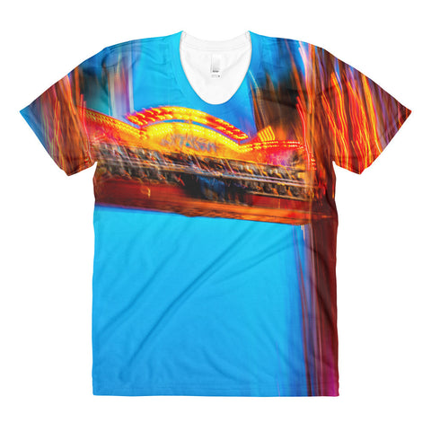 """The Fair"" - Sublimation women's crew neck t-shirt"