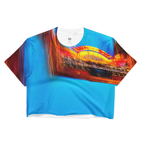 """The Fair"" - Ladies Crop Top"