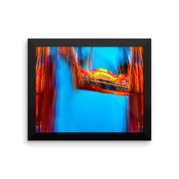 """The Fair"" - Framed photo paper poster"