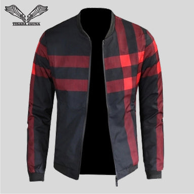 Patchwork Casual Long Sleeve Male Jacket
