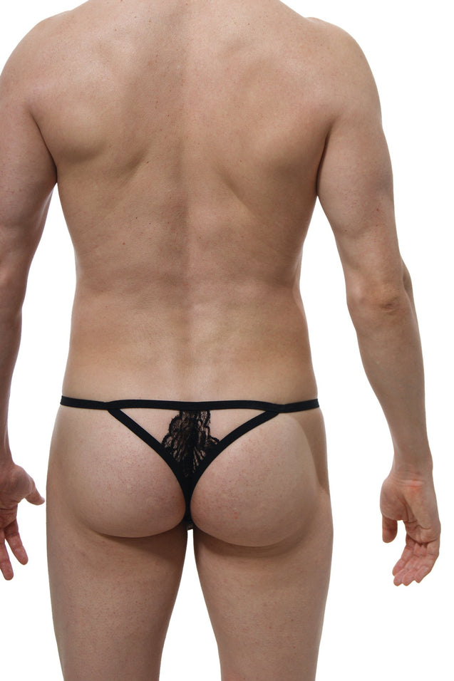 G-String Lace Givry Black