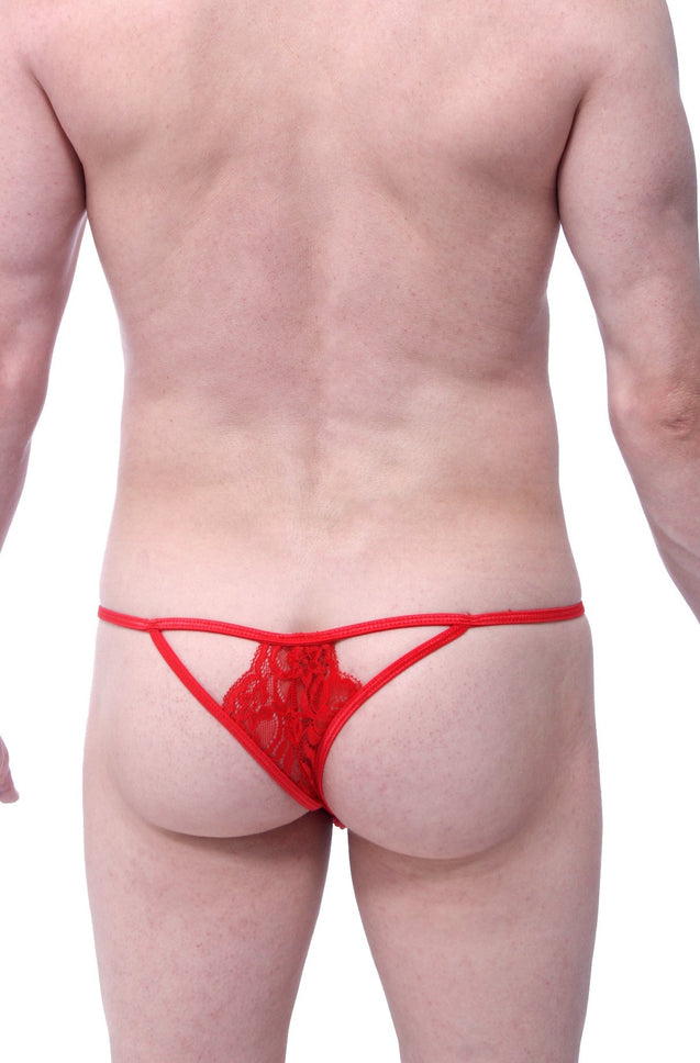 Thong Lace Givry Red
