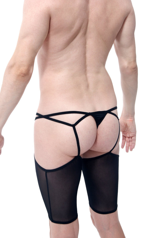 Thong Moulin Rouge Black