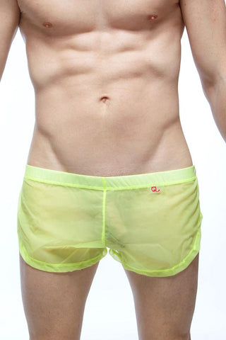 Shorts Snap PetitQ Neon Yellow