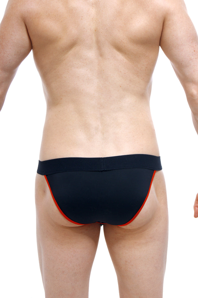 Tanga PetitQ Magic Black Red
