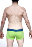 Padded Swim Boxer Green
