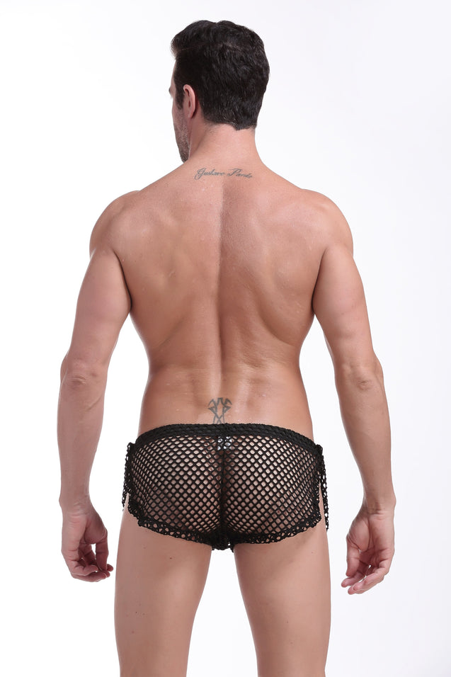 shorts Snap PetitQ fishnet black