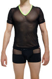 T-Shirt Net PetitQ Black