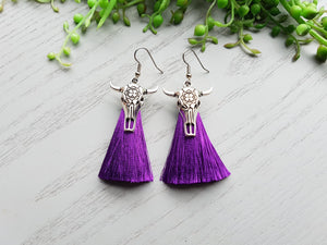 COWGIRL TASSELS PURPLE