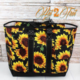 SUNFLOWER LRG CARRY BAG