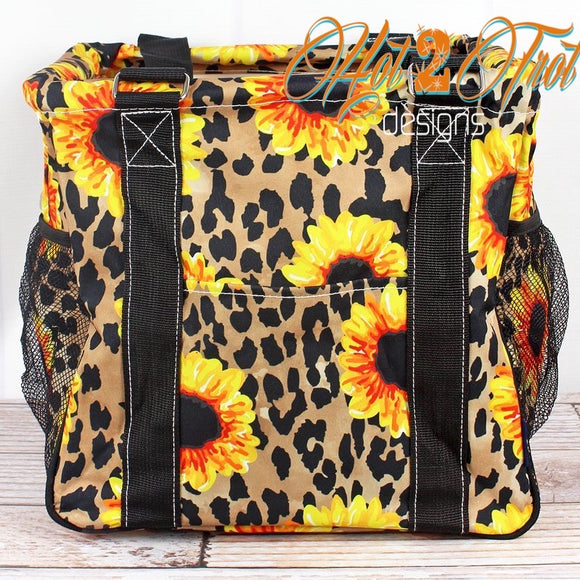 LEOPARD SUNFLOWER MINI BASKET *PREORDER*
