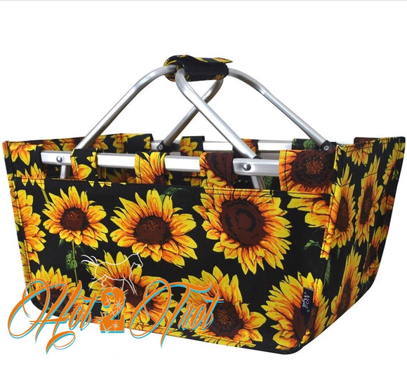 SUNFLOWER SHOPPING BASKET *PREORDER