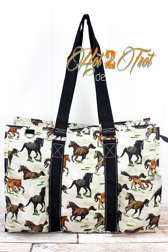 WILD HORSES LARGE OVERNIGHT BAG **PREORDER**