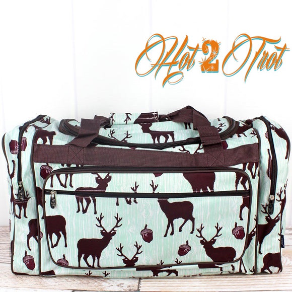 "THE BUCK STOPS HERE 23"" DUFFEL BAG"