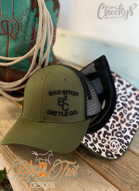 BAD BITCH CATTLE CO. CAP