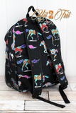 SANTA FE STALLION SCHOOL BACKPACK