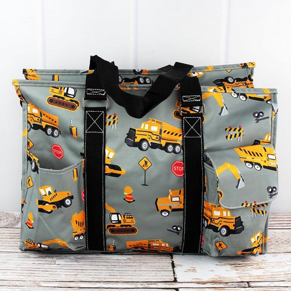 CONSTRUCTION TRUCKS LRG OVERNIGHT BAG
