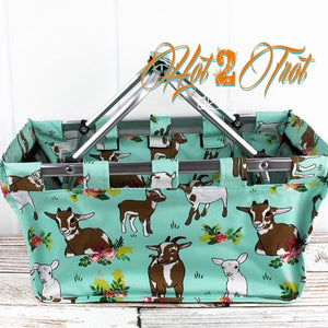 GIDDY GOATS SHOPPING BASKET *PREORDER*