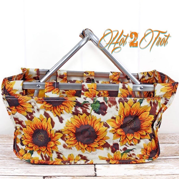SUNFLOWER FARM SHOPPING BASKET *PREORDER*
