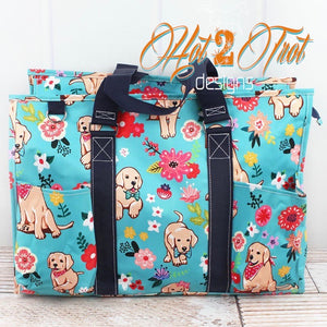 DARLING DOGS LRG OVERNIGHT BAG **PRE-ORDER**
