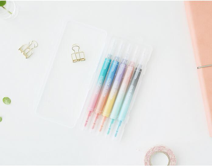 Double-Sided Highlighter & Pen Set