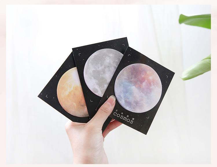 Planets Sticky Notes