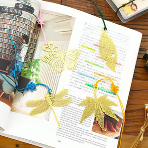Marque Page Leaf Book Markers
