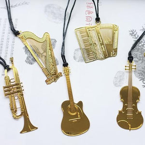 Fashion Musial Piano Guitar Bookmark