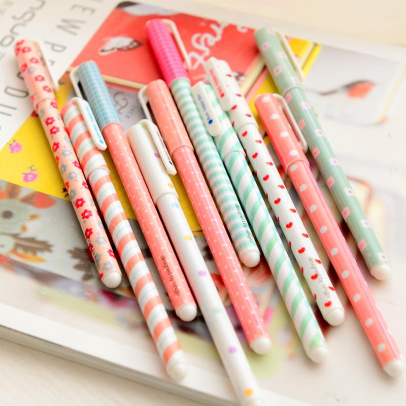 Kawaii Patterns Gel Pens Set of 10