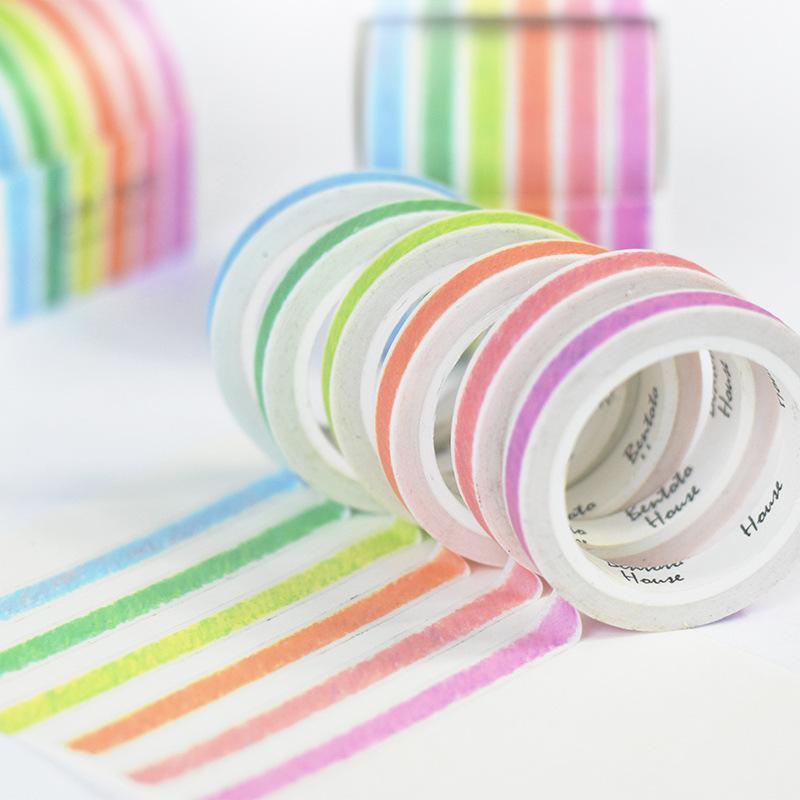Crayon Slim Washi Tape