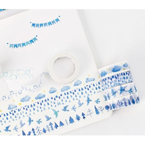Blue Washi Tape
