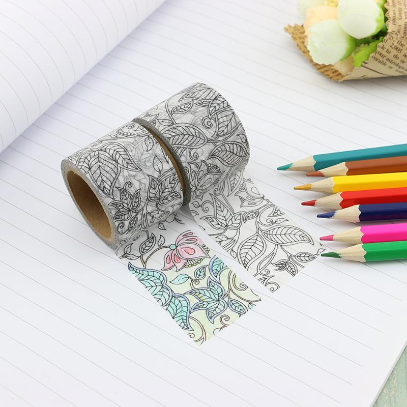 Coloring Washi Tape