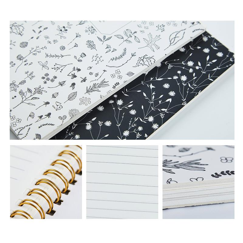 Korean Floral Notebooks