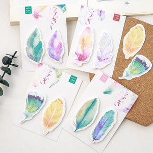 Feather Sticky Notes