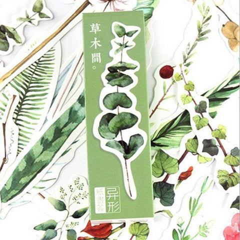 Beautiful & Elegant Plant Bookmarks - 30 Piece Set