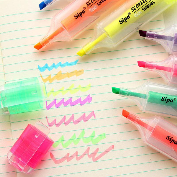 Candy Color Highlighter Pens