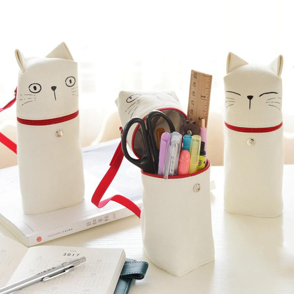 Cat Expressions Pencil Case