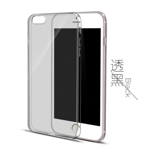 Crystal Clear Silicon Phone Case