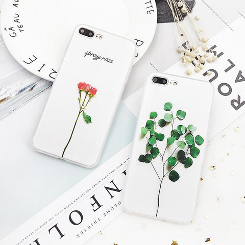 3D Relief Floral Phone Case