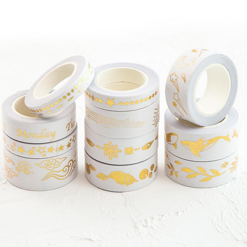 Gold Festive Washi Tape