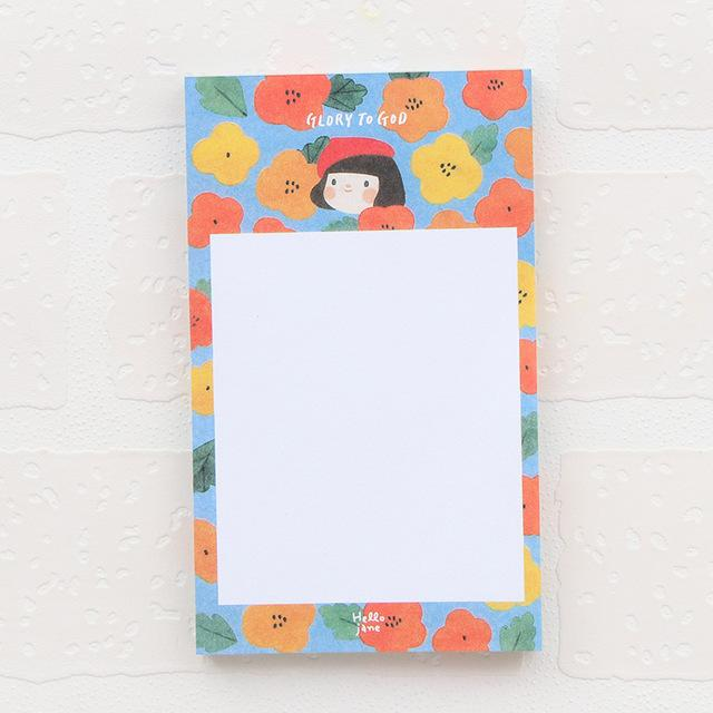 Cute Girl Notepad
