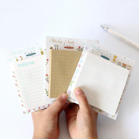 Mini practical memo pad